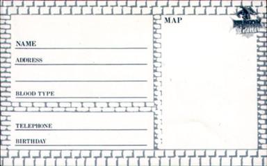 ナムコ「ドラゴンスピリット」アドレスブック,namco,Dragon Spirit,Address Book