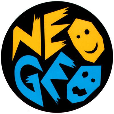 エスエヌケイ「ネオジオ」ロゴステッカー,SNK,NEO GEO,Logo Sticker、レトロゲーム、retro game